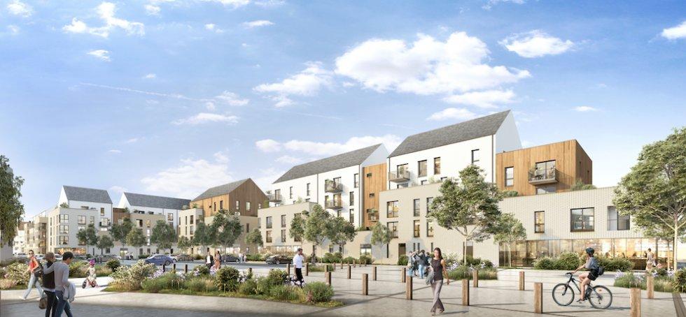ARVAL architecture - Redéveloppement du site de Royallieu – COMPIEGNE - 4 Redéveloppement du site de l'Intermarché de Royallieu à COMPIEGNE-ARVAL