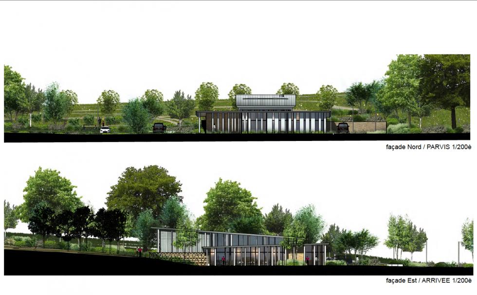 ARVAL architecture - Crématorium – Creil - 5 Crématorium Nogent-sur-Oise ARVAL