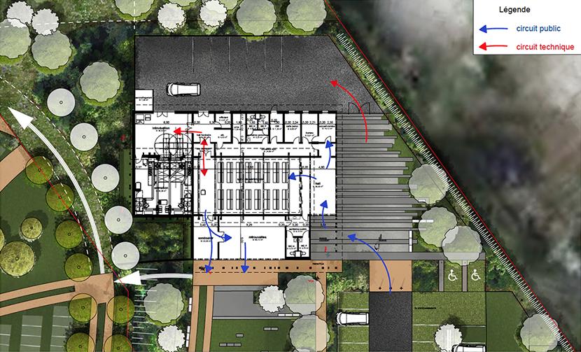 ARVAL architecture - Crématorium – Creil - 4 Crématorium Nogent-sur-Oise ARVAL