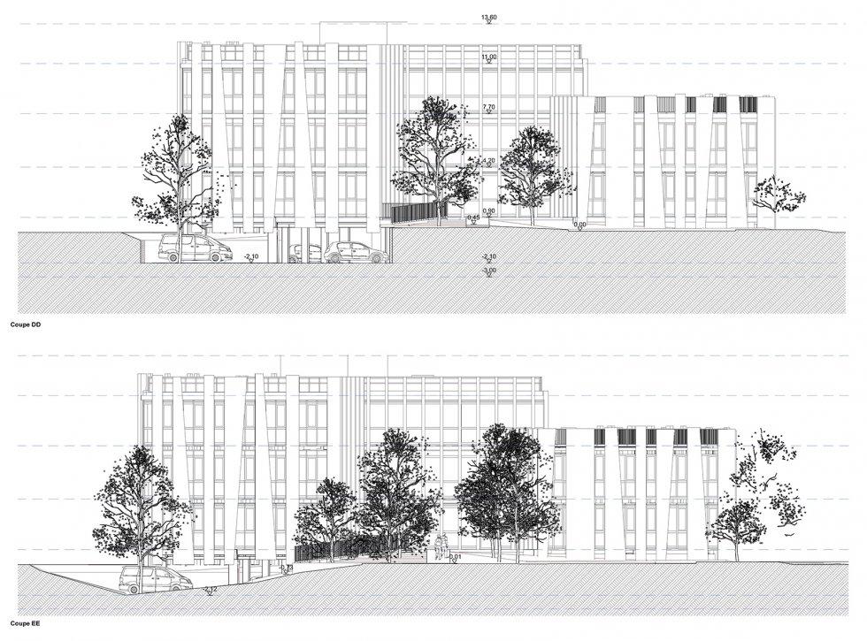 ARVAL architecture - BUREAUX ADIM – COMPIEGNE - 8 Bureaux Adim ZAC des Sablons Compiègne ARVAL