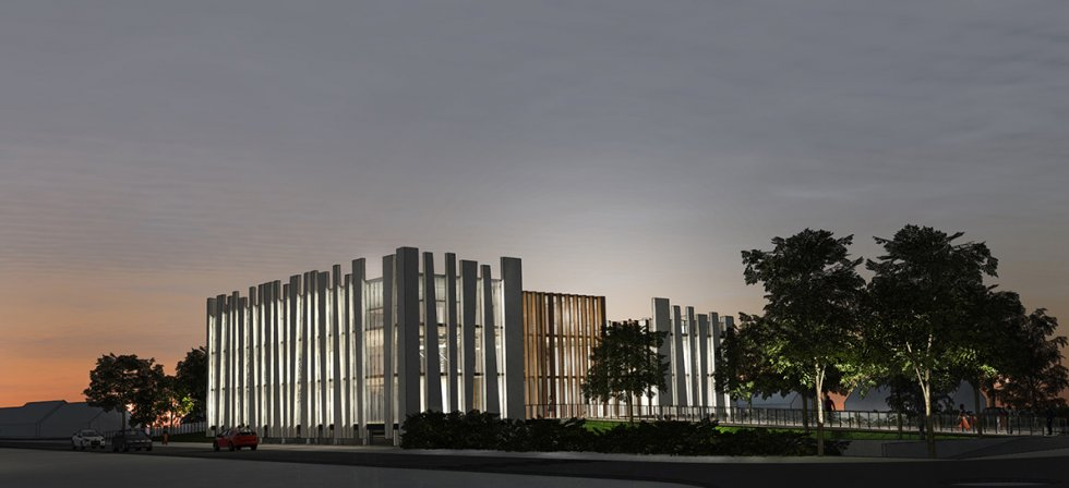 ARVAL architecture - BUREAUX ADIM – COMPIEGNE - 1 Bureaux Adim ZAC des Sablons Compiègne ARVAL