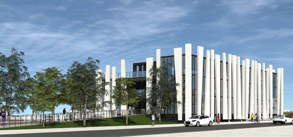 ARVAL architecture - BUREAUX ADIM – COMPIEGNE - 5 Bureaux Adim ZAC des Sablons Compiègne ARVAL