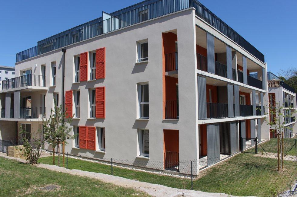 ARVAL architecture - 52 LOGEMENTS ALLEE DU COTEAU –  AMIENS - 1 ARVAL 52 logements CLESENCE  Allée du Coteau Amiens
