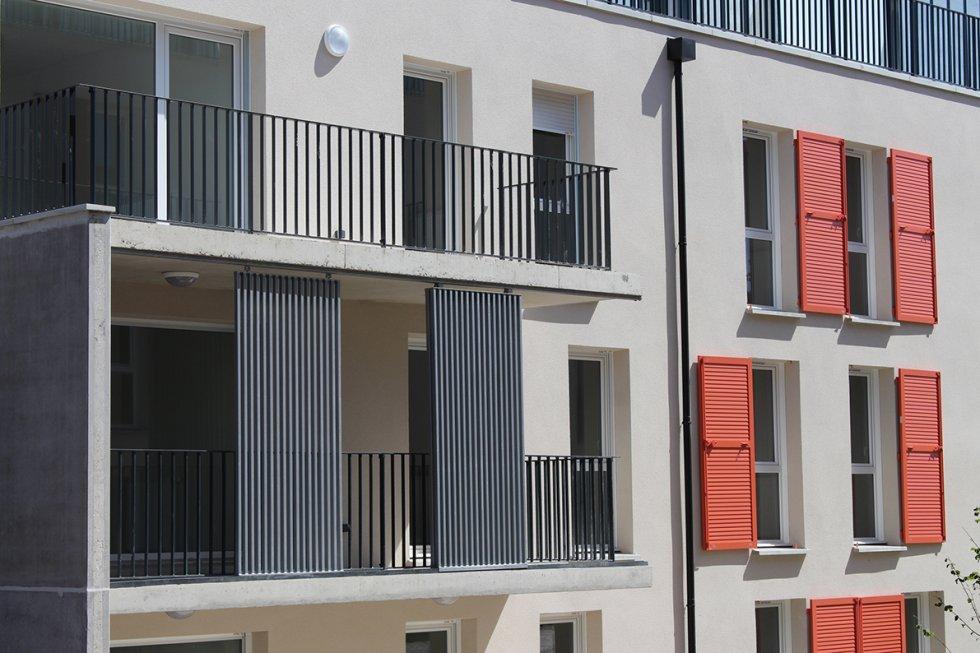 ARVAL architecture - 52 LOGEMENTS ALLEE DU COTEAU –  AMIENS - 2 ARVAL 52 logements CLESENCE  Allée du Coteau Amiens