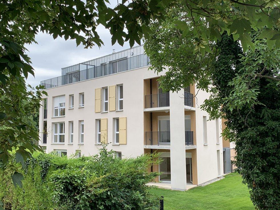 ARVAL architecture - 52 LOGEMENTS ALLEE DU COTEAU –  AMIENS - 5 ARVAL 52 logements CLESENCE Allée du Coteau Amiens