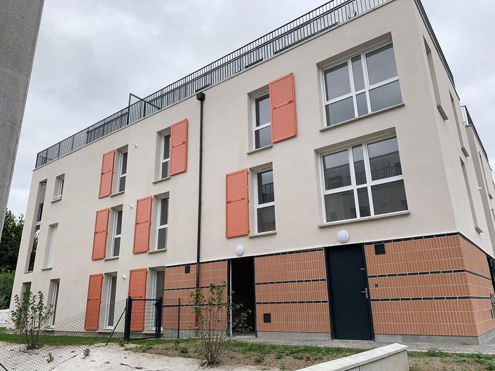 ARVAL architecture - 52 LOGEMENTS ALLEE DU COTEAU –  AMIENS - 3 ARVAL 52 logements CLESENCE  Allée du Coteau  Amiens
