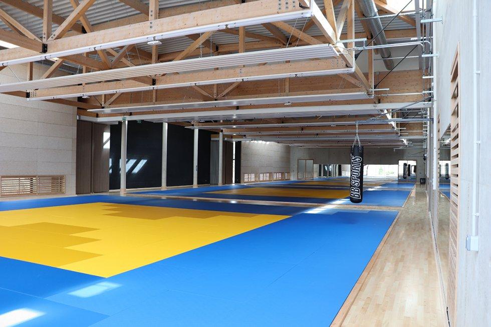 ARVAL architecture - Maison d'arts martiaux – Crépy-en-Valois - 2 ARVAL-Salle d'arts martiaux et sports de combat à Crépy-en-Valois