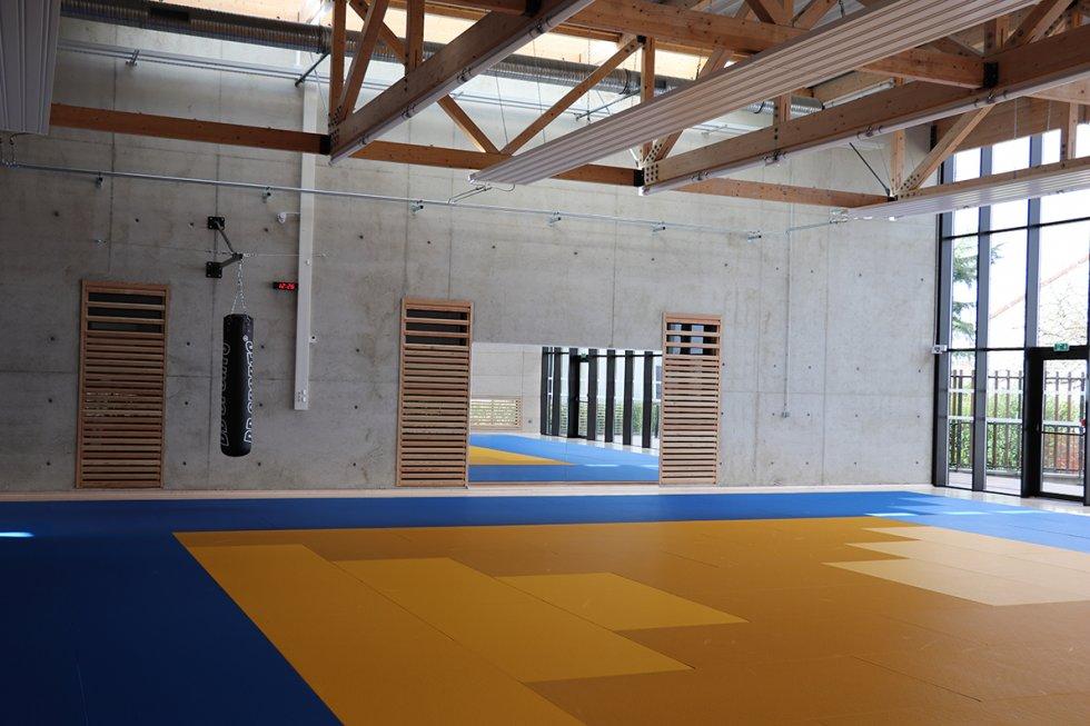 ARVAL architecture - Maison d'arts martiaux – Crépy-en-Valois - 4 ARVAL-Salle d'arts martiaux et sports de combat à Crépy-en-Valois