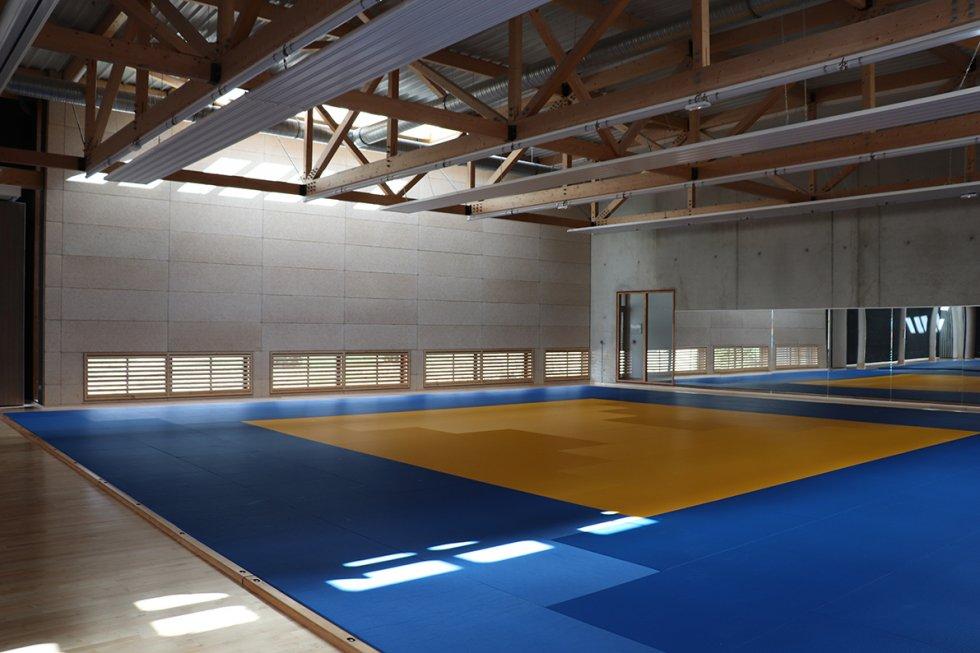 ARVAL architecture - Maison d'arts martiaux – Crépy-en-Valois - 5 ARVAL-Salle d'arts martiaux et sports de combat à Crépy-en-Valois