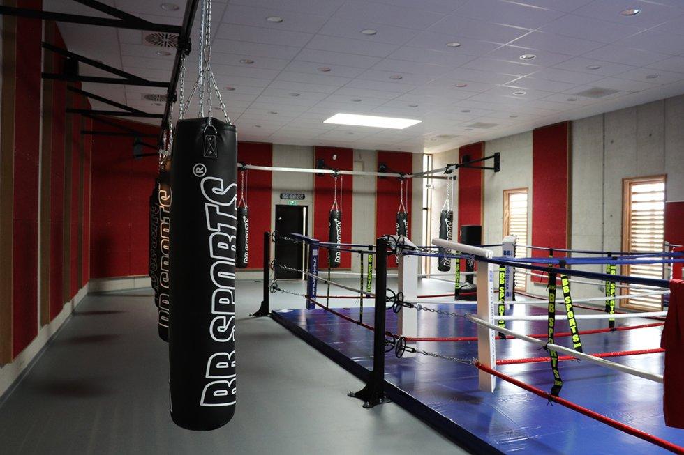 ARVAL architecture - Maison d'arts martiaux – Crépy-en-Valois - 6 ARVAL-Salle d'arts martiaux et sports de combat à Crépy-en-Valois