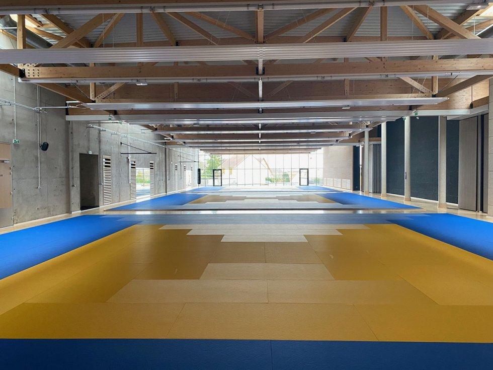 ARVAL architecture - Maison d'arts martiaux – Crépy-en-Valois - 10 ARVAL-Salle d'arts martiaux et sports de combat à Crépy-en-Valois