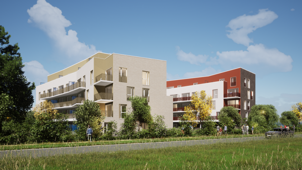 ARVAL architecture - 49 LOGEMENTS ILOT L3E2 – AMIENS - 1 49 logements ILOT L3E2 AMIENS