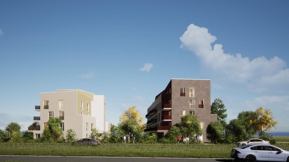 ARVAL architecture - 49 LOGEMENTS ILOT L3E2 – AMIENS - 2 49 logements ILOT L3E2 AMIENS