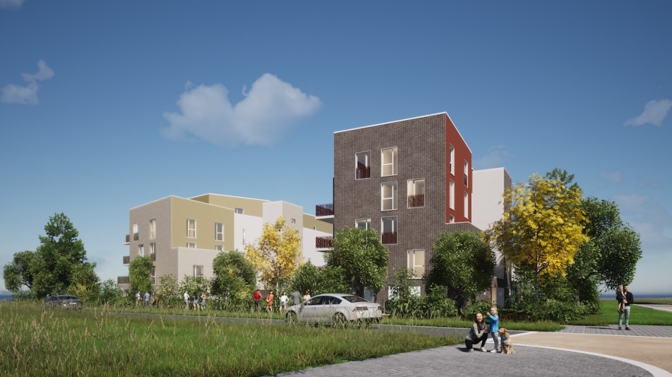 ARVAL architecture - 49 LOGEMENTS ILOT L3E2 – AMIENS - 3 49 logements ILOT L3E2 AMIENS