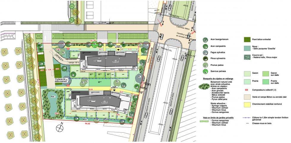 ARVAL architecture - 49 LOGEMENTS ILOT L3E2 – AMIENS - 5 49 logements ILOT L3E2 AMIENS