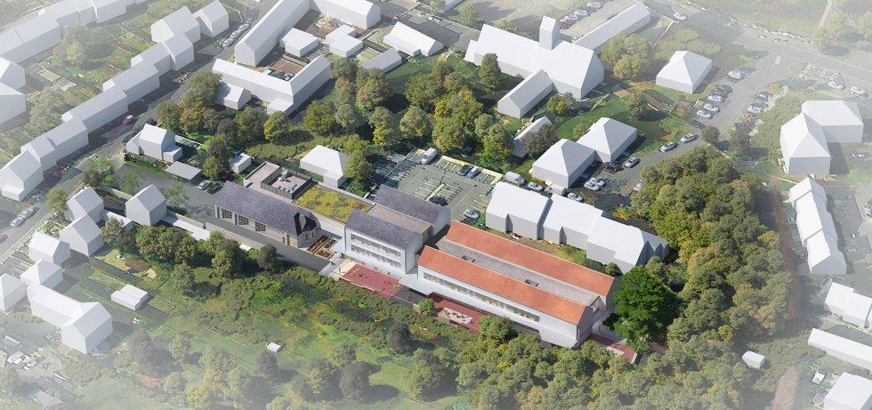 ARVAL architecture - GROUPE SCOLAIRE – NOGENT-SUR-OISE - 1 ARVAL Groupe scolaire Nogent-sur-Oise-sur-Oise