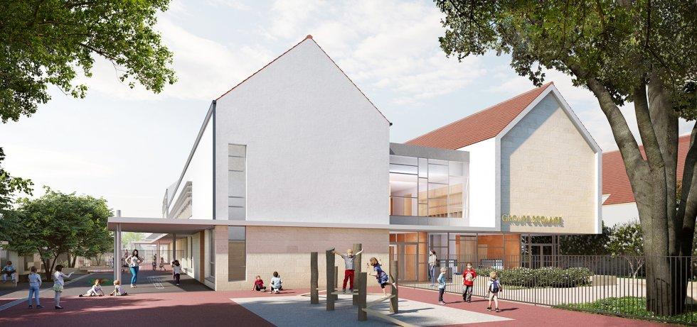 ARVAL architecture - GROUPE SCOLAIRE – NOGENT-SUR-OISE - 2 ARVAL Groupe scolaire Nogent-sur-Oise-sur-Oise