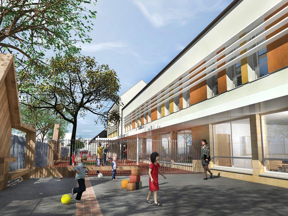 ARVAL architecture - GROUPE SCOLAIRE – NOGENT-SUR-OISE - 6 ARVAL Groupe scolaire Nogent-sur-Oise-sur-Oise