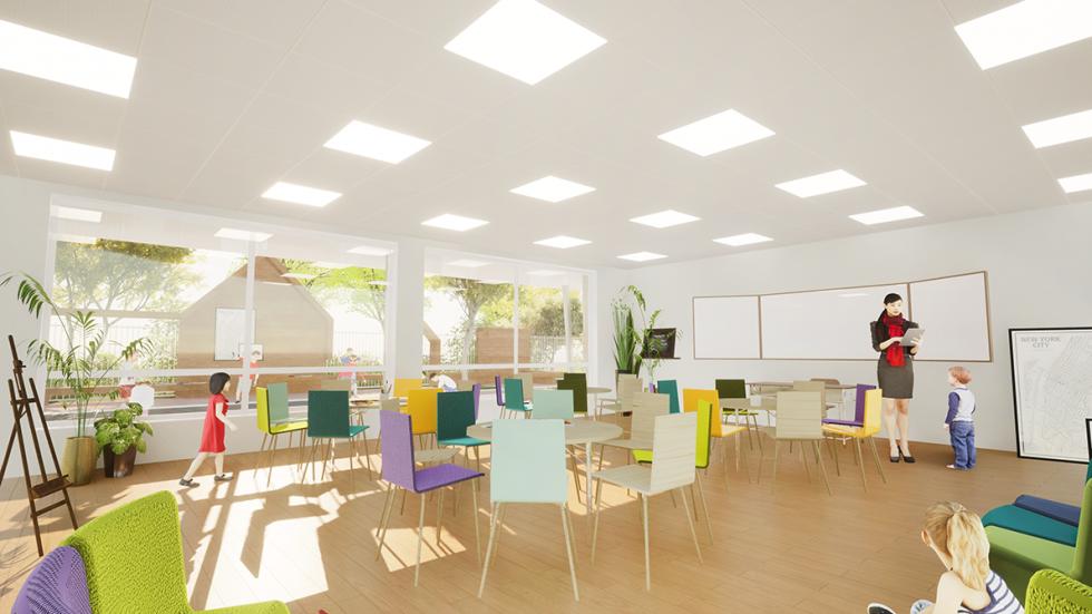 ARVAL architecture - GROUPE SCOLAIRE – NOGENT-SUR-OISE - 8 ARVAL Groupe scolaire Nogent-sur-Oise-sur-Oise