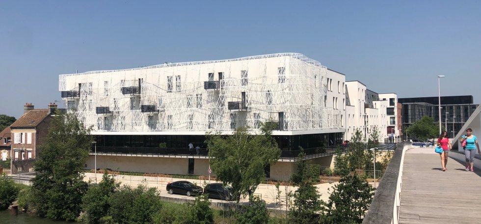 ARVAL architecture - Hôtel ZAC des deux Rives – Margny les Compiègne - 1 arval hotel margny les compiegne