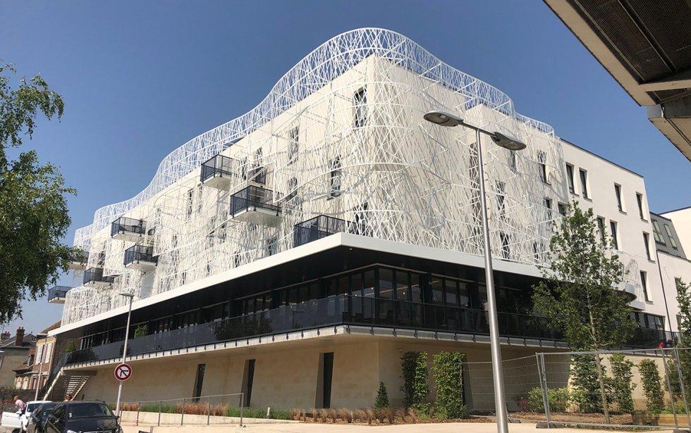 ARVAL architecture - Hôtel ZAC des deux Rives – Margny les Compiègne - 2 arval hotel margny les compiegne
