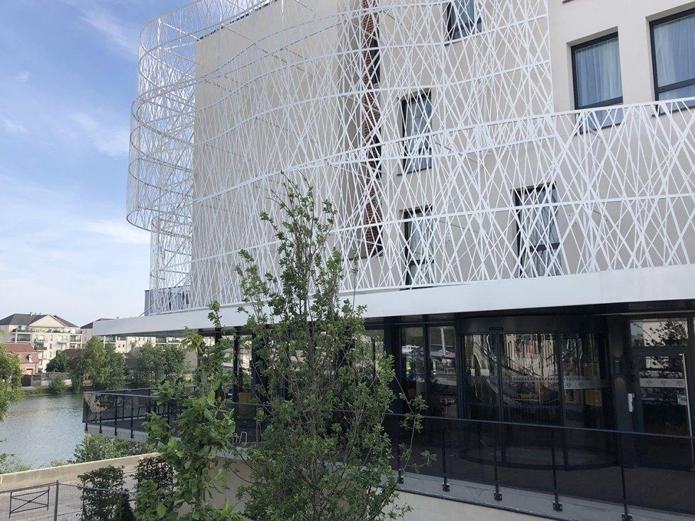 ARVAL architecture - Hôtel ZAC des deux Rives – Margny les Compiègne - 5 ARVAL HOTEL MARGNY les compiegne