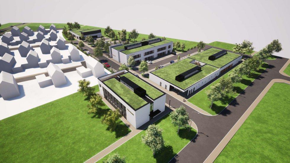 ARVAL architecture - POLE SANTE – CREPY-EN-VALOIS - 1 Pôle santé Crépy-en-Valois