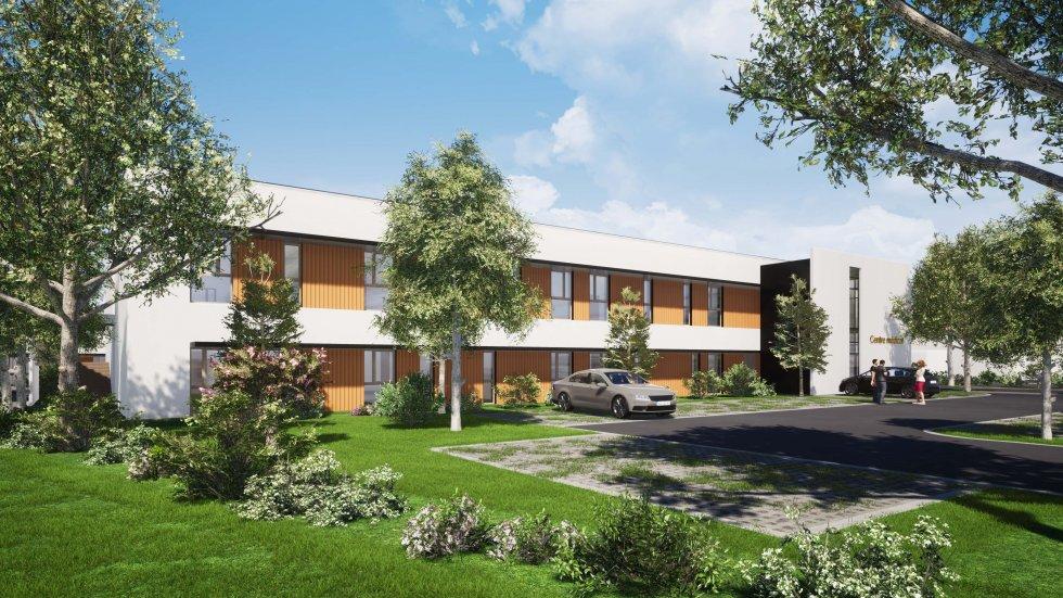 ARVAL architecture - POLE SANTE – CREPY-EN-VALOIS - 3 Pôle santé Crépy-en-Valois