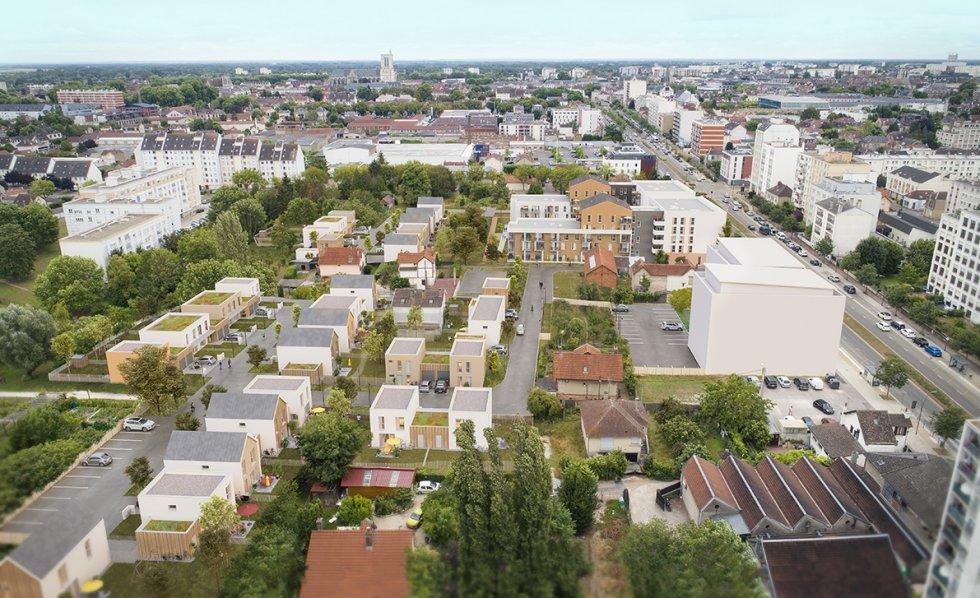 ARVAL architecture - MAISONS INDIVIDUELLES – TROYES - 1 37 maisons individuelles Troyes