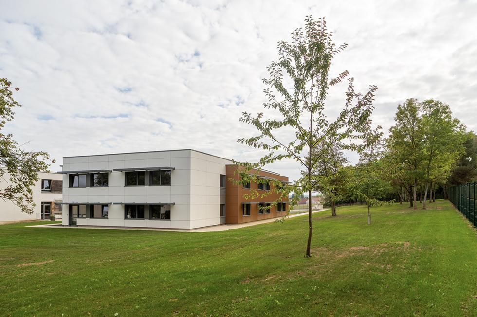 ARVAL architecture - POLE AUTISTE – CREPY - 2 Extension La Sagesse Crépy-en-Valois ARVAL