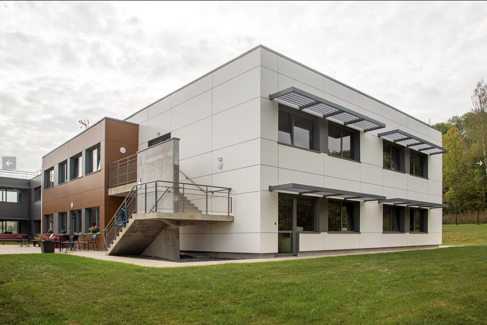 ARVAL architecture - POLE AUTISTE – CREPY - 1 Extension La Sagesse Crépy-en-Valois ARVAL