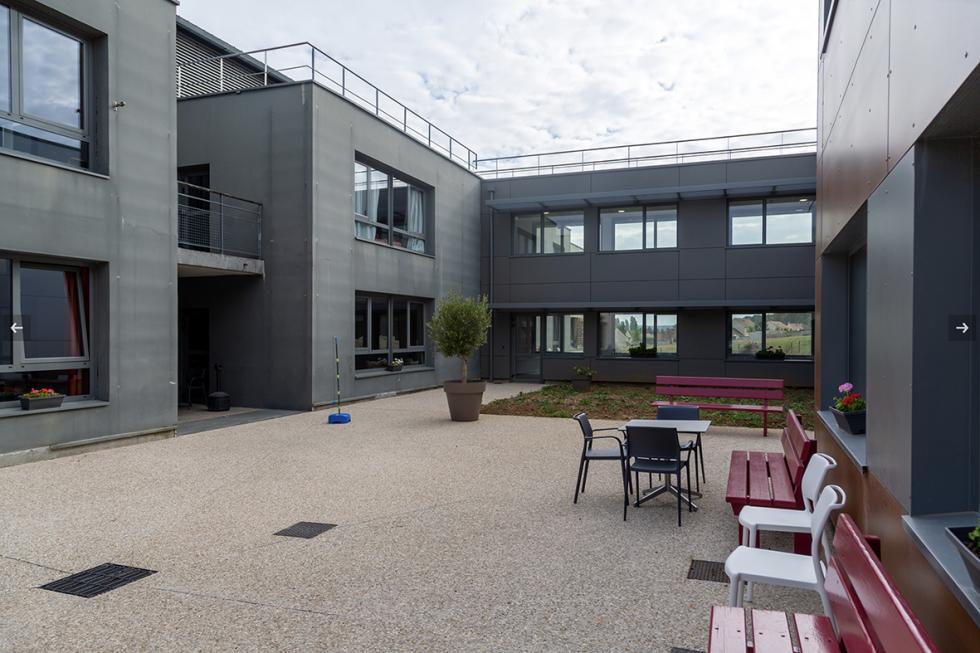 ARVAL architecture - POLE AUTISTE – CREPY - 5 Extension La Sagesse Crépy-en-Valois ARVAL