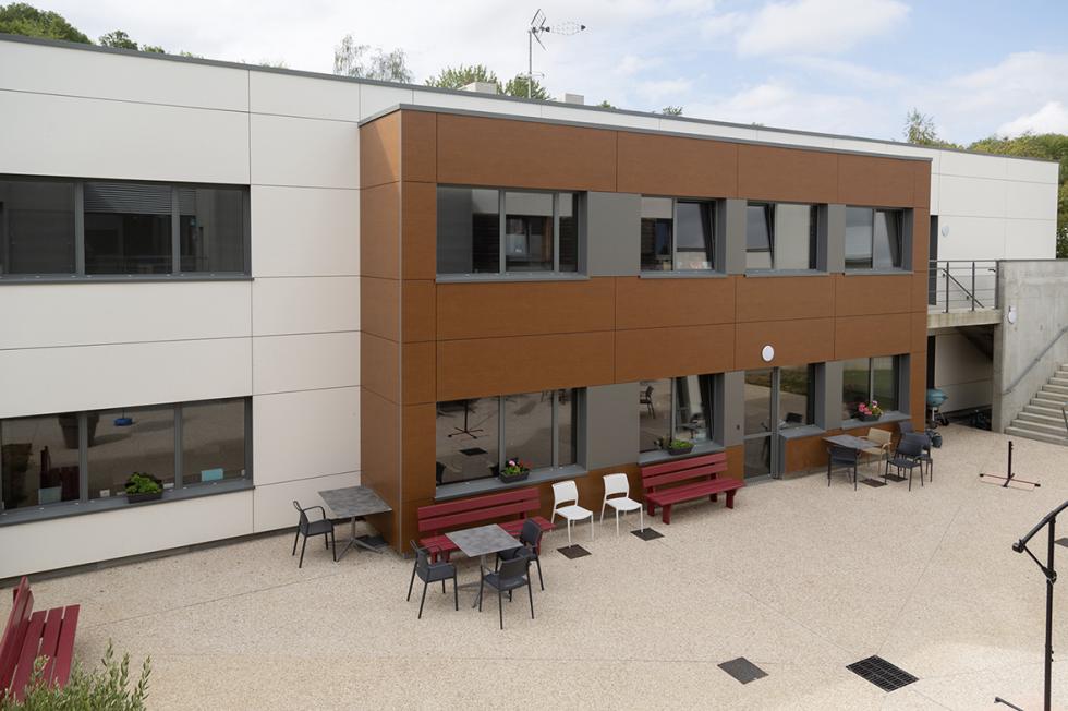 ARVAL architecture - POLE AUTISTE – CREPY - 4 Extension La Sagesse Crépy-en-Valois ARVAL