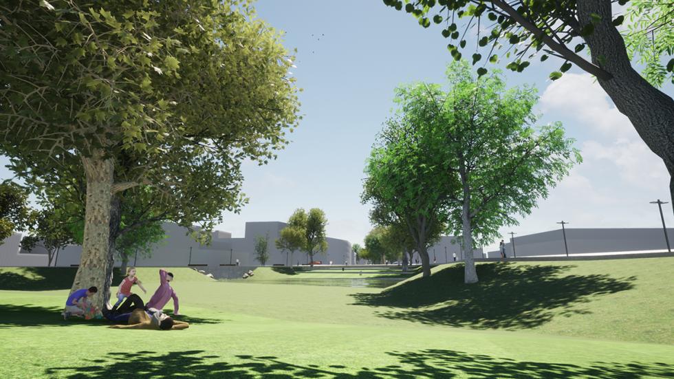 ARVAL architecture - ZAC ECOQUARTIER – MONTEVRAIN - 4 Ecoquartier Montévrain ARVAL