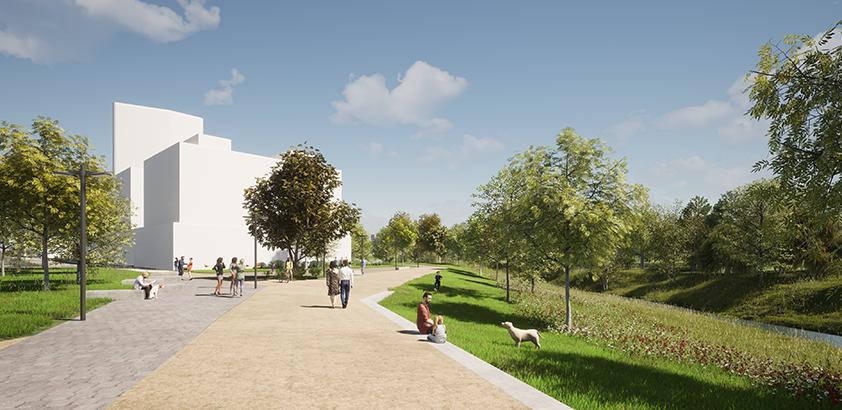 ARVAL architecture - ZAC ECOQUARTIER – MONTEVRAIN - 7 Ecoquartier Montévrain ARVAL
