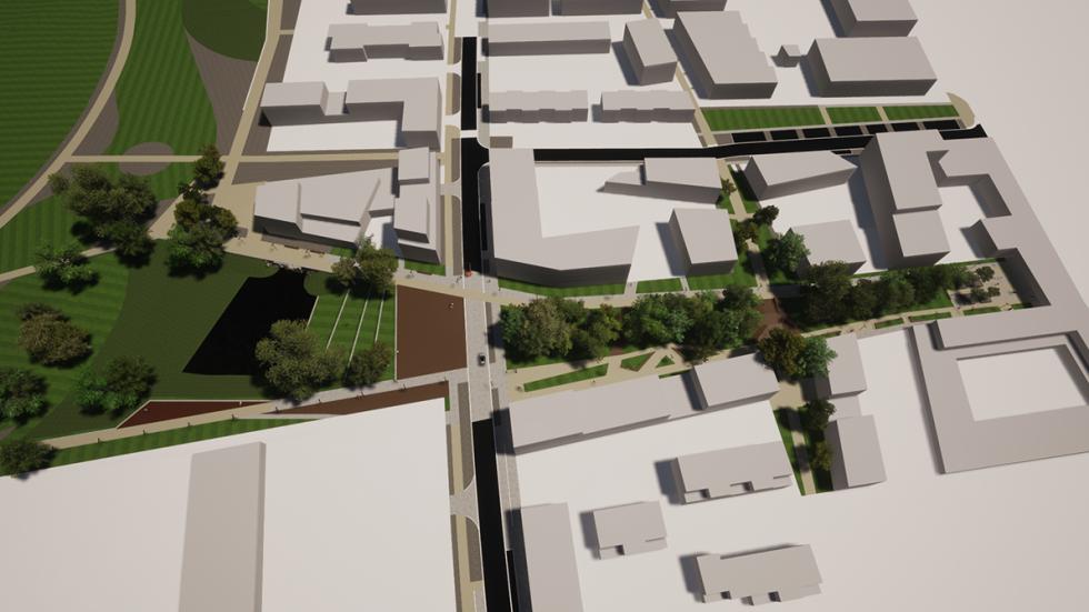ARVAL architecture - ZAC ECOQUARTIER – MONTEVRAIN - 1 Ecoquartier Montévrain ARVAL