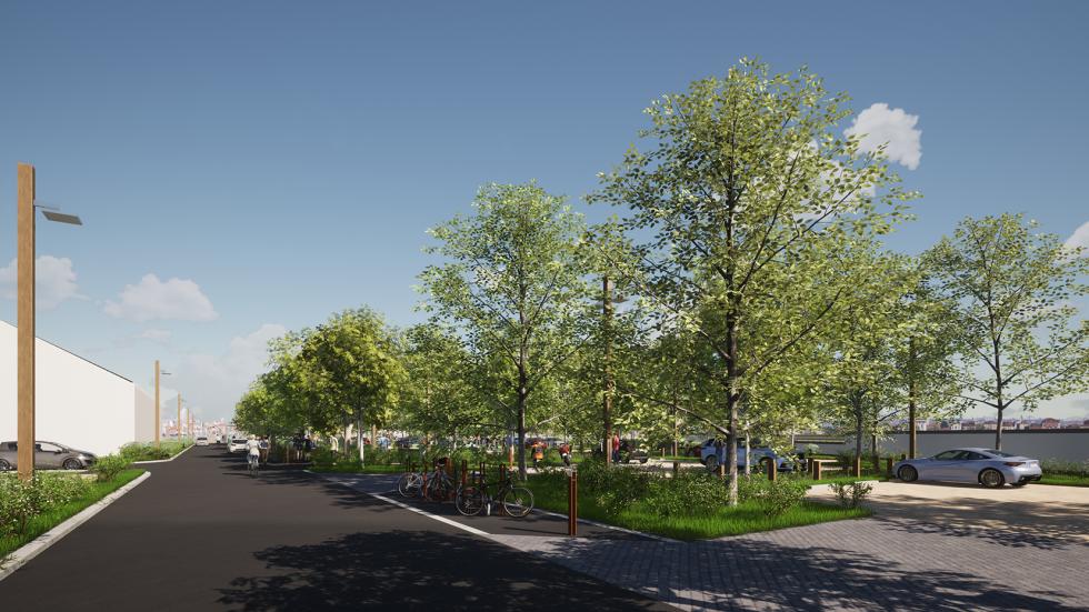 ARVAL architecture - PARC DE STATIONNEMENT – SENLIS - 4 Parc de stationnement quartier Ordener Senlis ARVAL