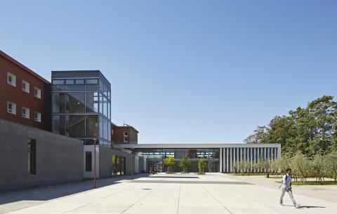 Cité scolaire-Réhabilitation – Amiens