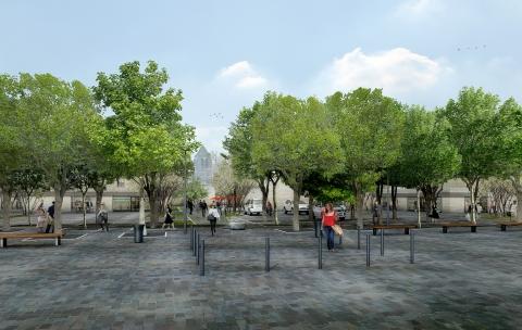 Requalification du centre-ville – Gouvieux