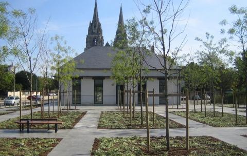 Pavillons d'entrée Caserne Gouraud – Soissons