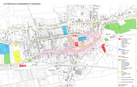 Etude déplacements urbain – Moreuil (80)