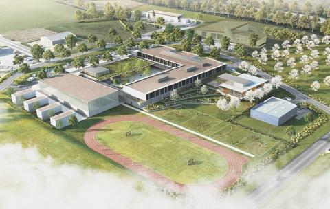 Le nouveau collège – Crèvecoeur-le-Grand